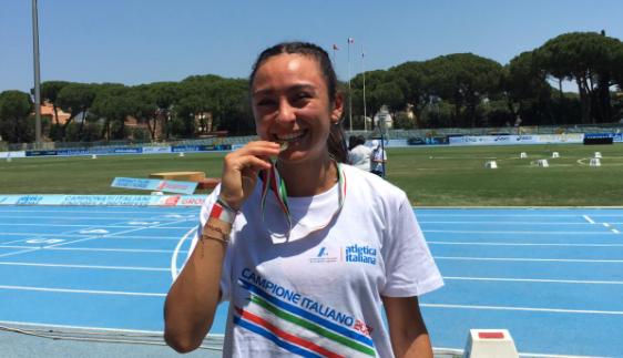 Sofia_1500_campionessa_italiana